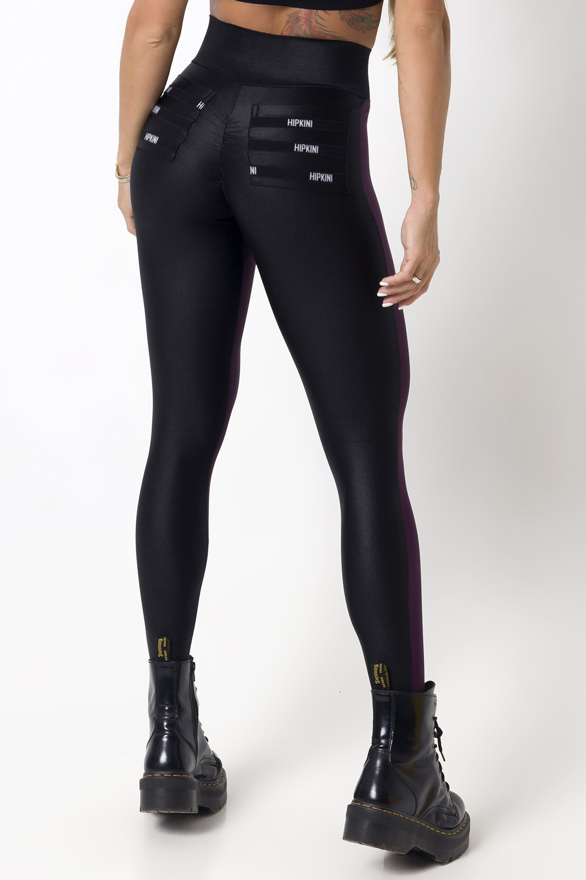 LEGGING WAVE FITNESS ROXA BRILHANTE HIPKINI