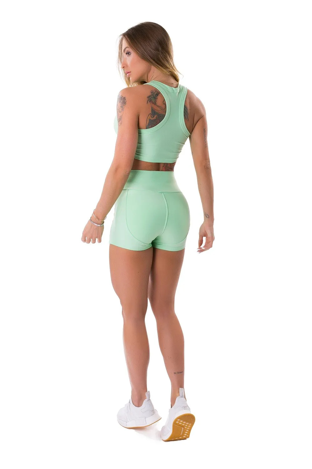 SHORT ENERGETIC NEO MINT LETSGYM
