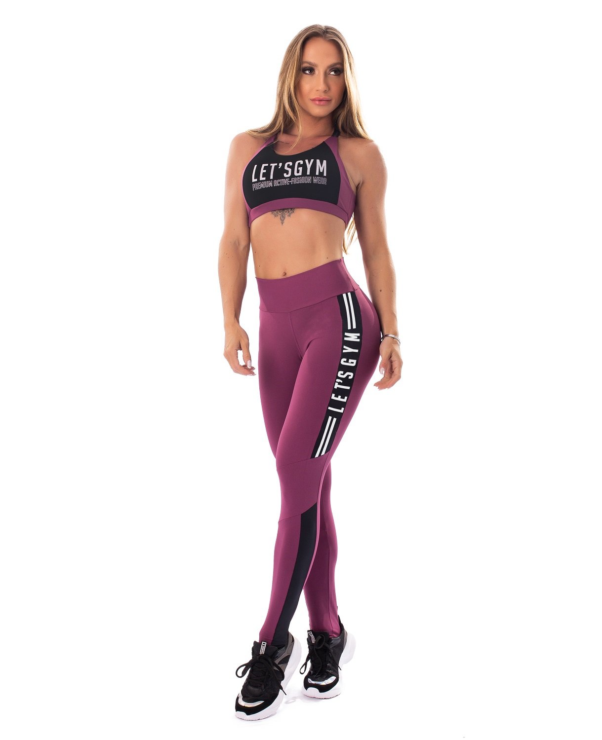 TOP ATHLETIC WOMAN LETSGYM