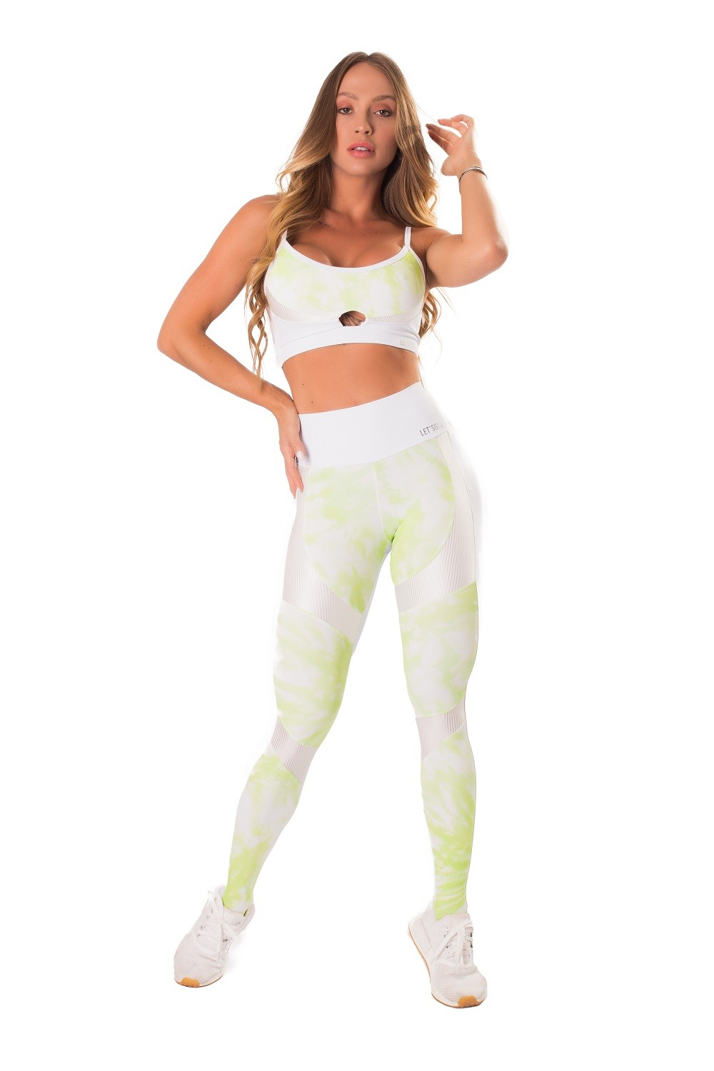 TOP MYSTIC FIT BRANCO LETSGYM