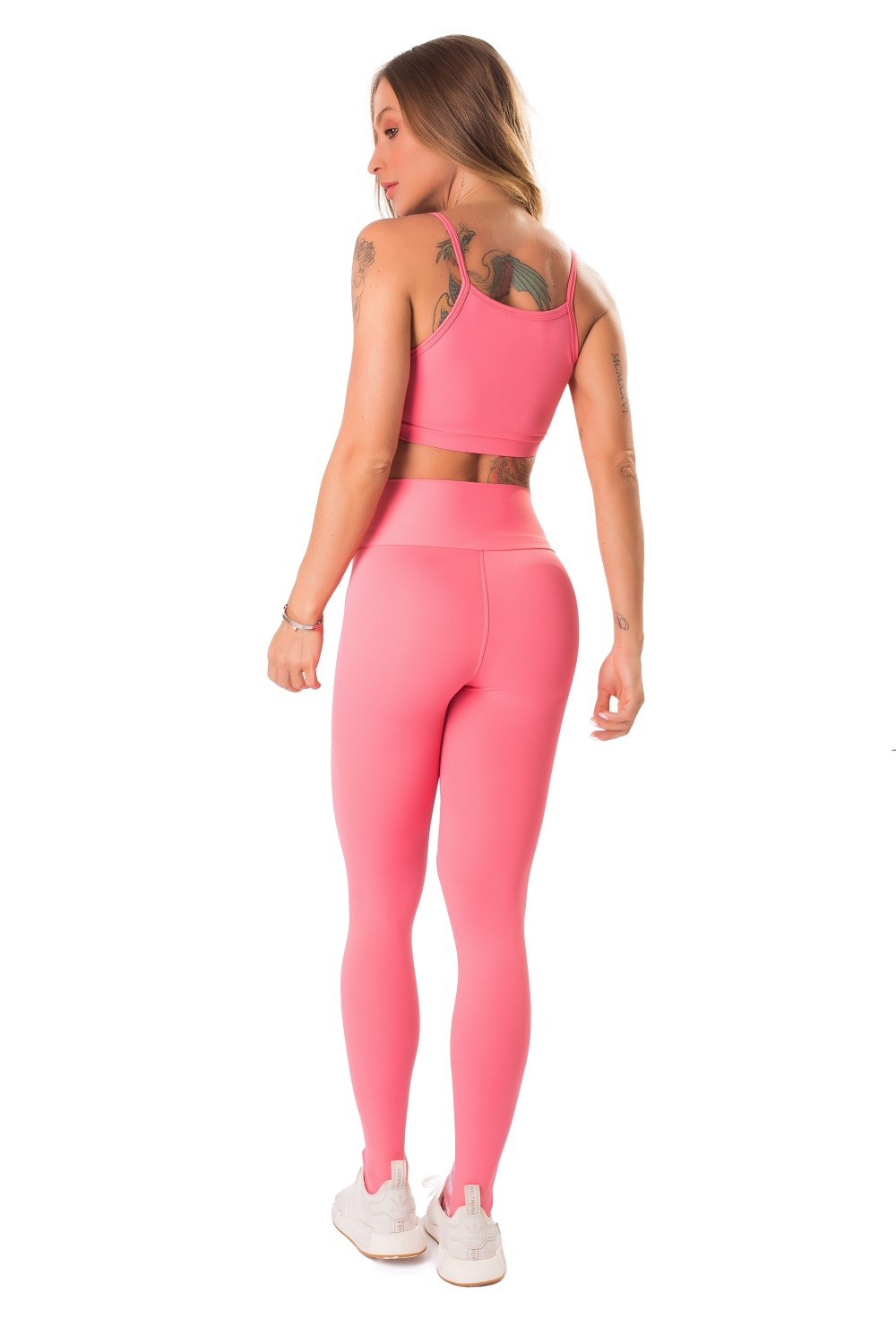 TOP MYSTIC FIT CORAL LETSGYM