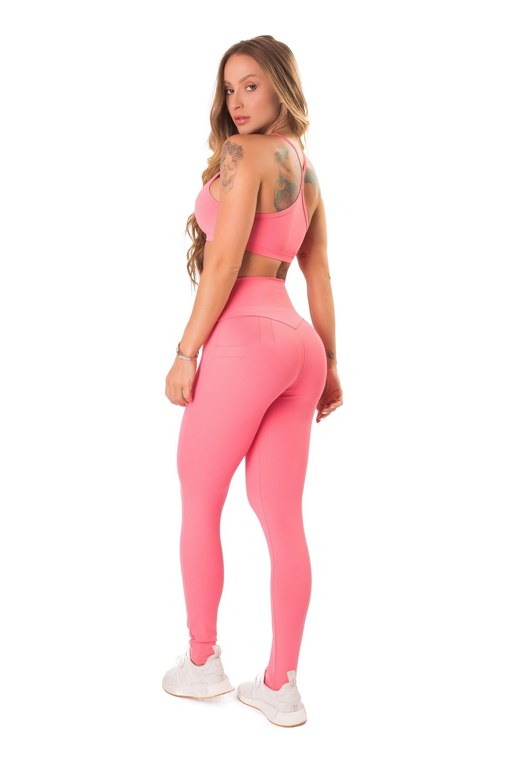 TOP PURE UP SOFT LETSGYM CORAL