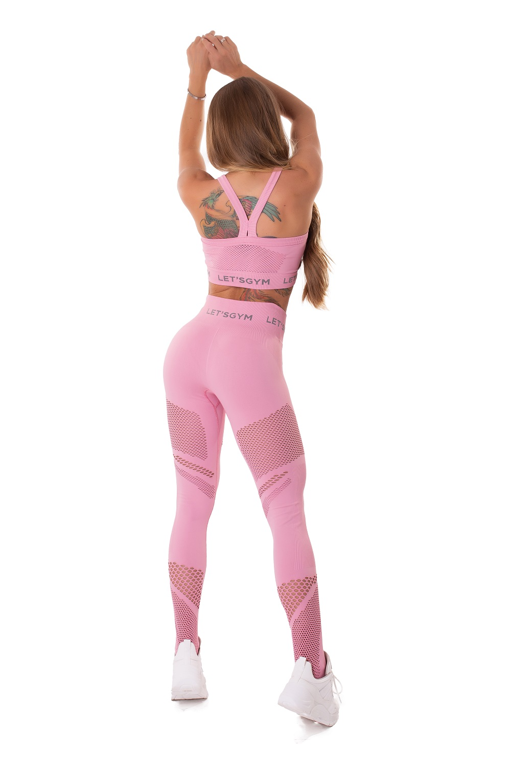 TOP SEAMLESS ESSENCE ROSA LETSGYM