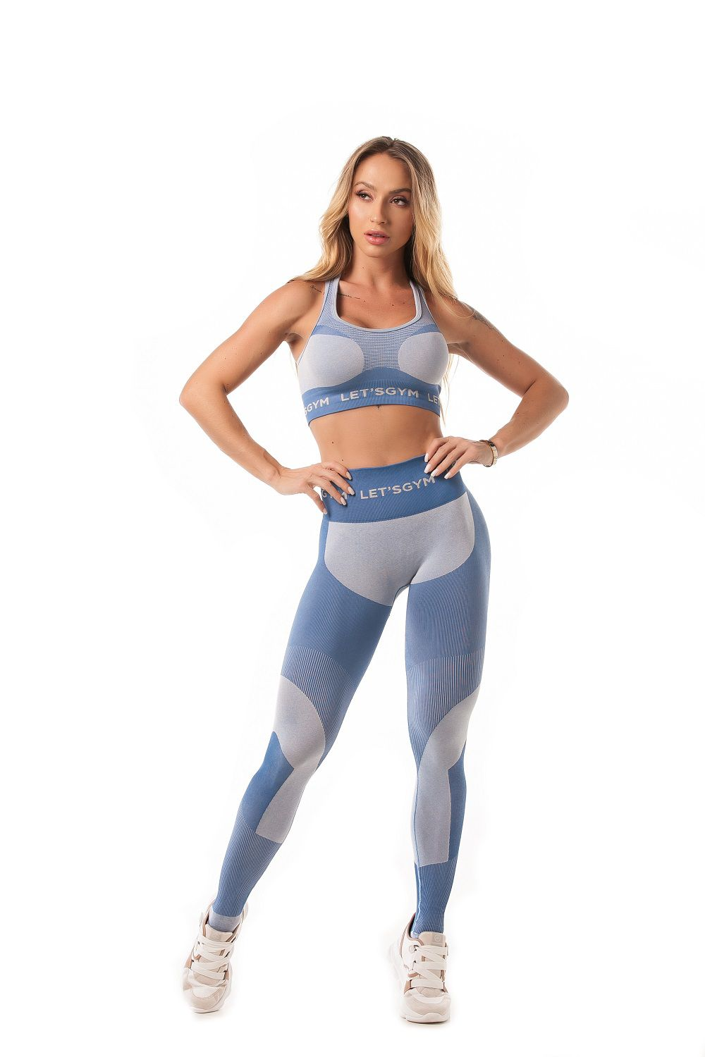 TOP SEAMLESS LETSGYM SEM COSTURA