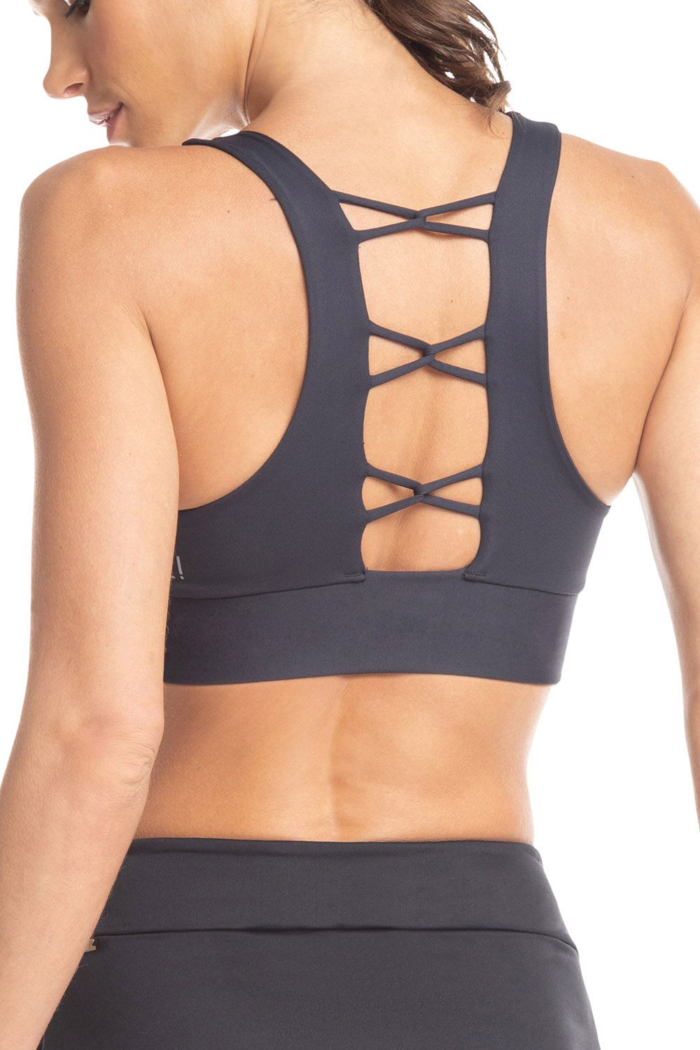 Top Strappy Essential Preto Live