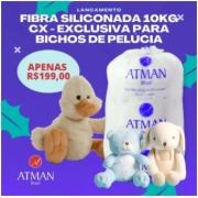 Fibra Siliconada Antialérgica 10 Quilogramas CX - Exclusiva Para Bichos De Pelúcia