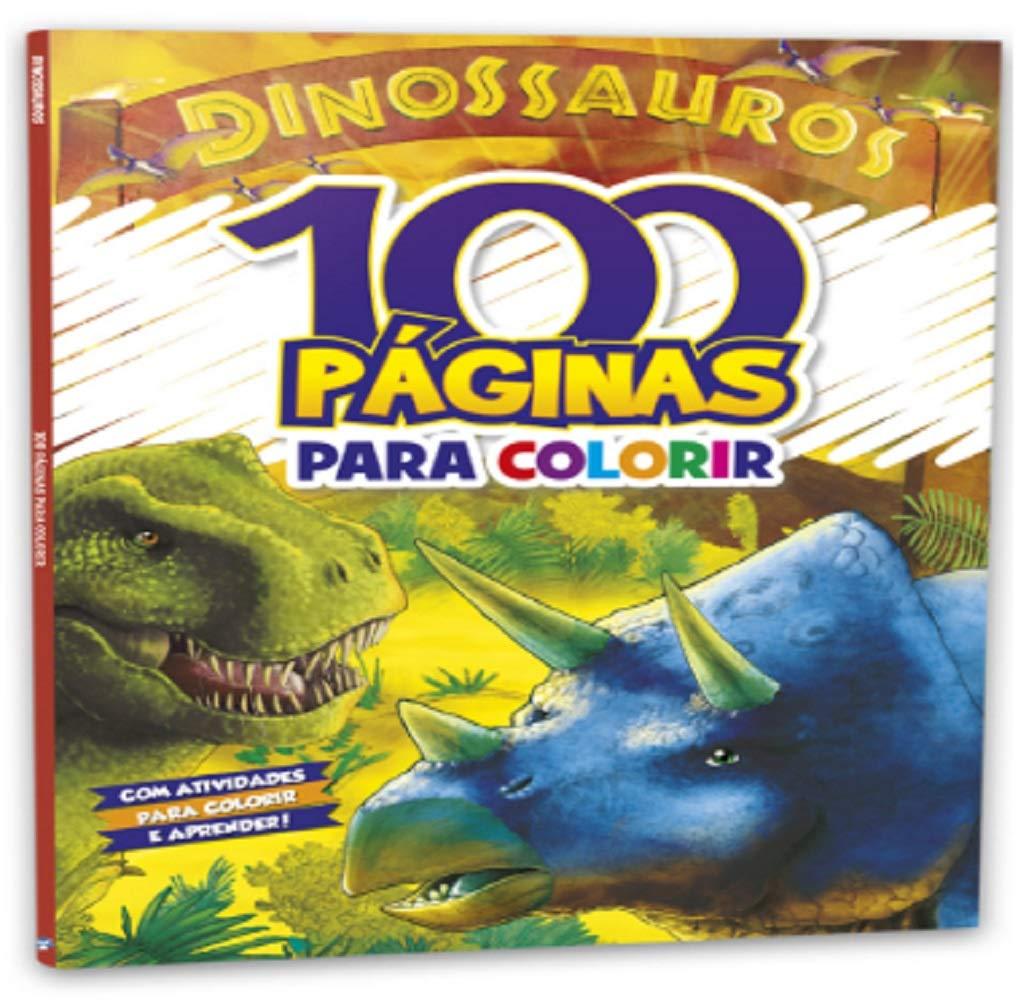 100 PAGINAS PARA COLORIR - DINOSSAUROS