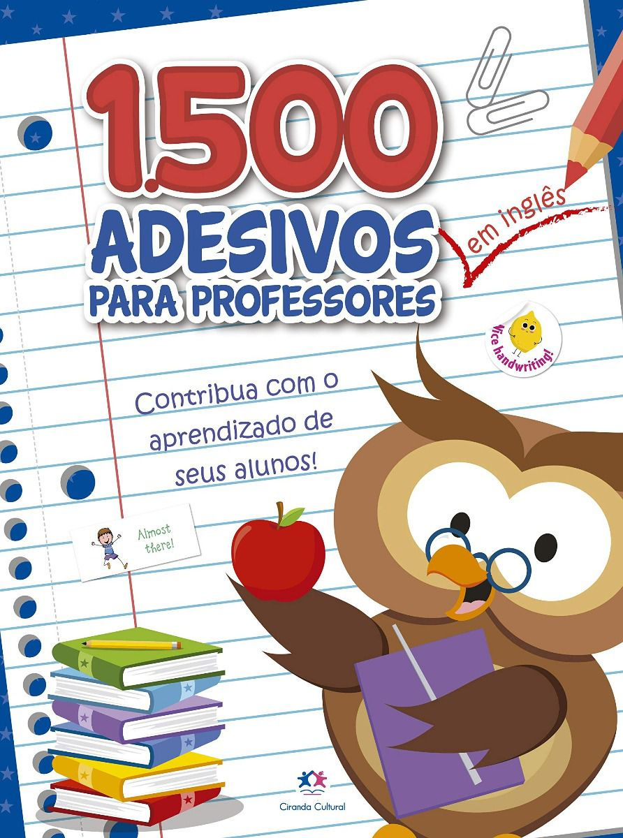 1500 ADESIVOS - COLABE COM O APRENDIZADO