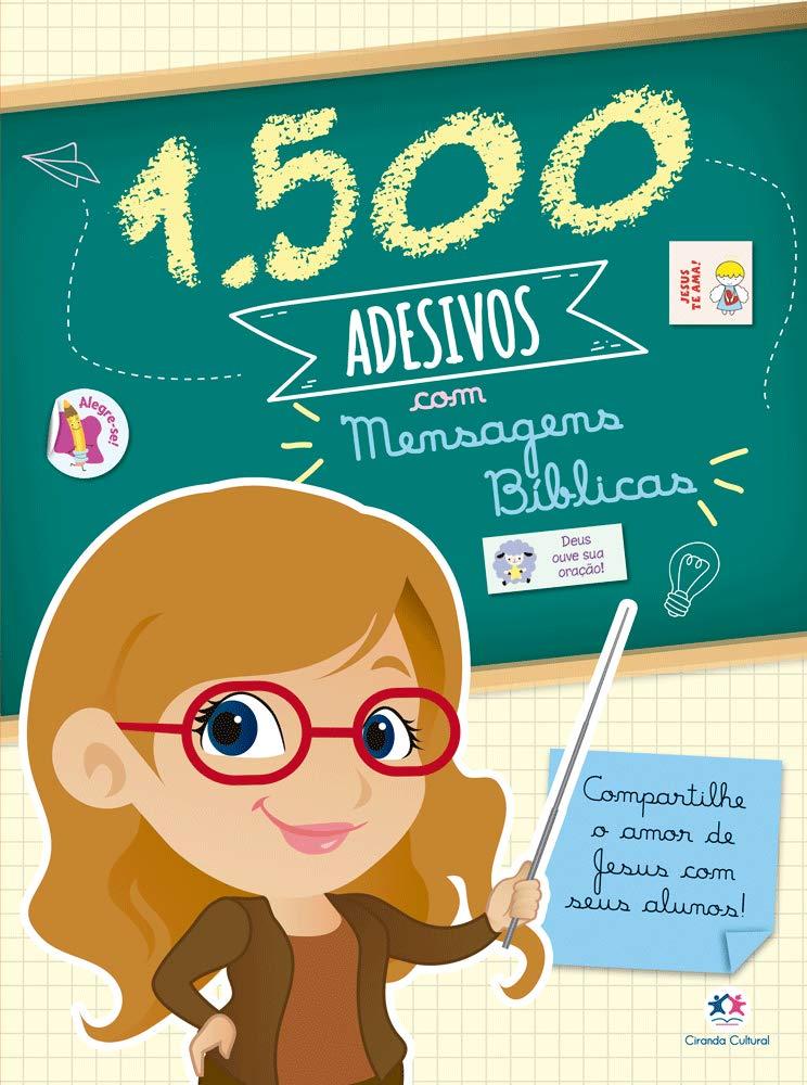 1500 ADESIVOS  - MENSAGENS BIBLICAS
