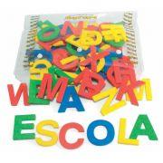 Alfabeto Móvel em E.V.A. , 72 letras , 5cm de altura