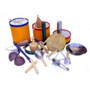 Bandinha Rítmica com 20 instrumento musicais