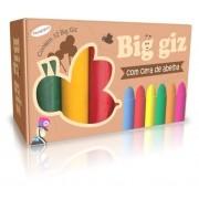 BIG GIZ DE CERA C/ 12 CORES