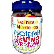 BRINCANDO COM LETRAS E NUMEROS 110 PEÇAS