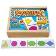 Dominó Formas Geométricas 28 pç