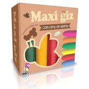 MAXI GIZ DE CERA C/12 CORES