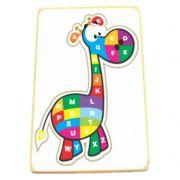 Quebra Cabeça Girafa Alfabeto