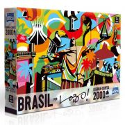 QUEBRA CABEÇAS BRASIL -  2000 PEÇAS