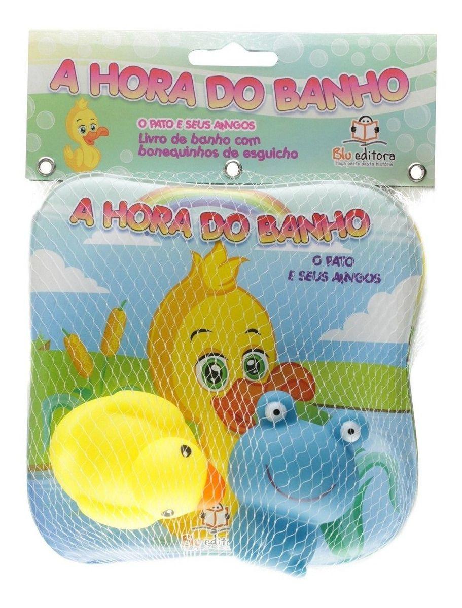 A HORA DO BANHO - O PATINHO E SEUS AMIGOS