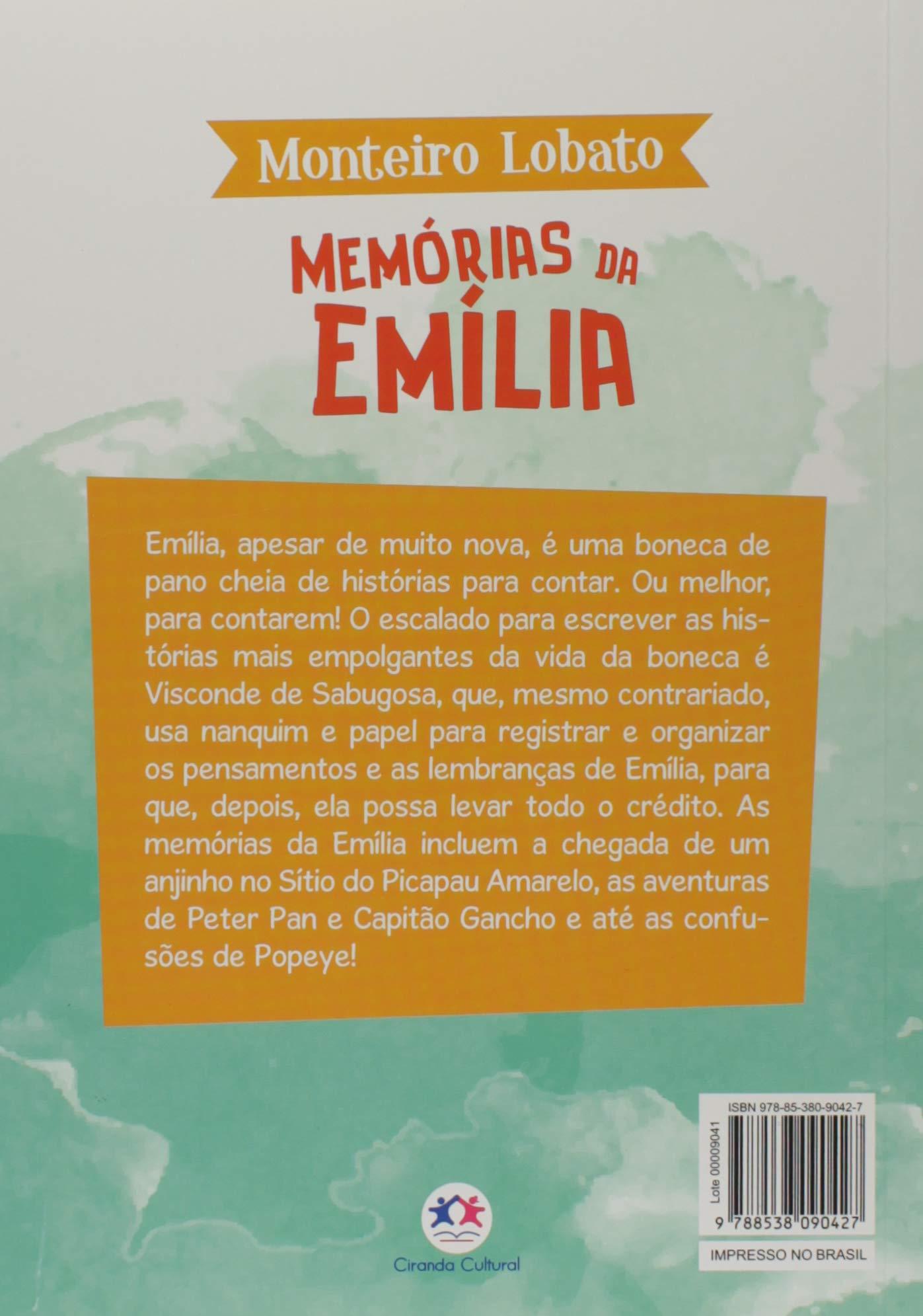 A TURMA DO SITIO - MEMORIAS DA EMILIA
