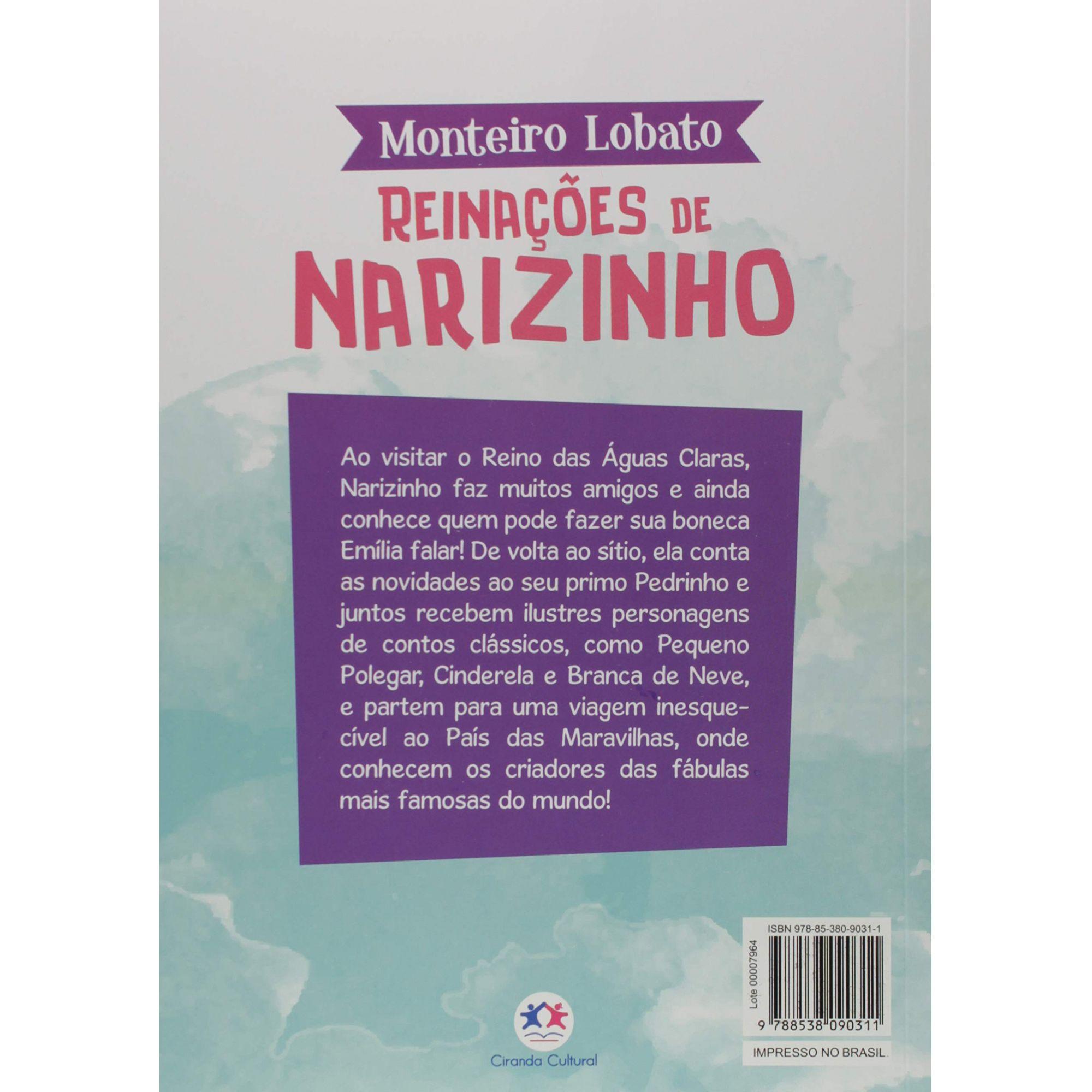 A TURMA DO SITIO - REINAÇÕES DE NARIZINHO