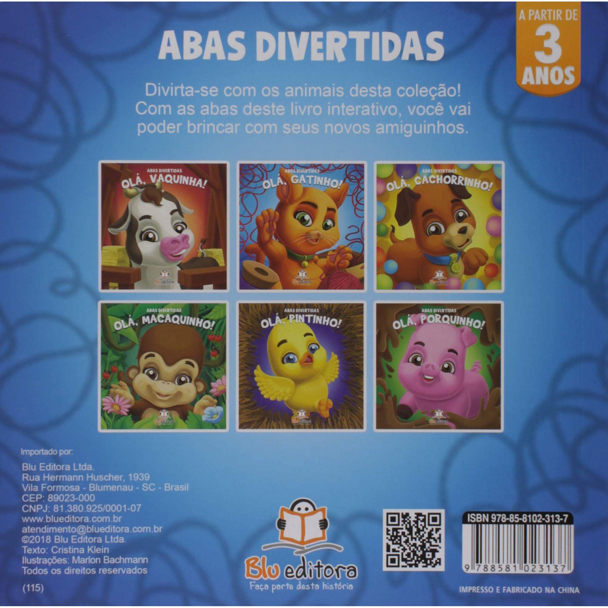 ABAS DIVERTIDAS - OLA GATINHO