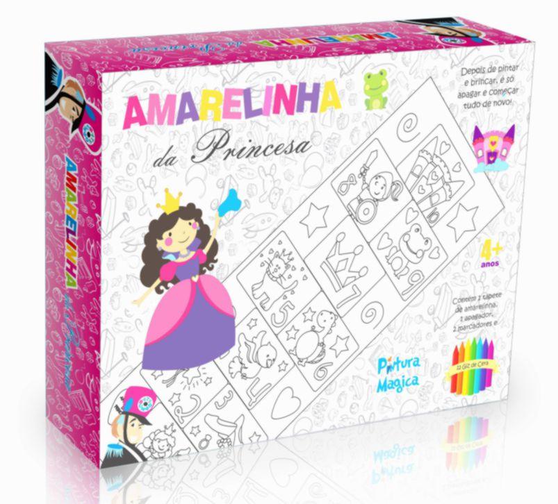 AMARELINHA PINTURA MÁGICA PRINCESA