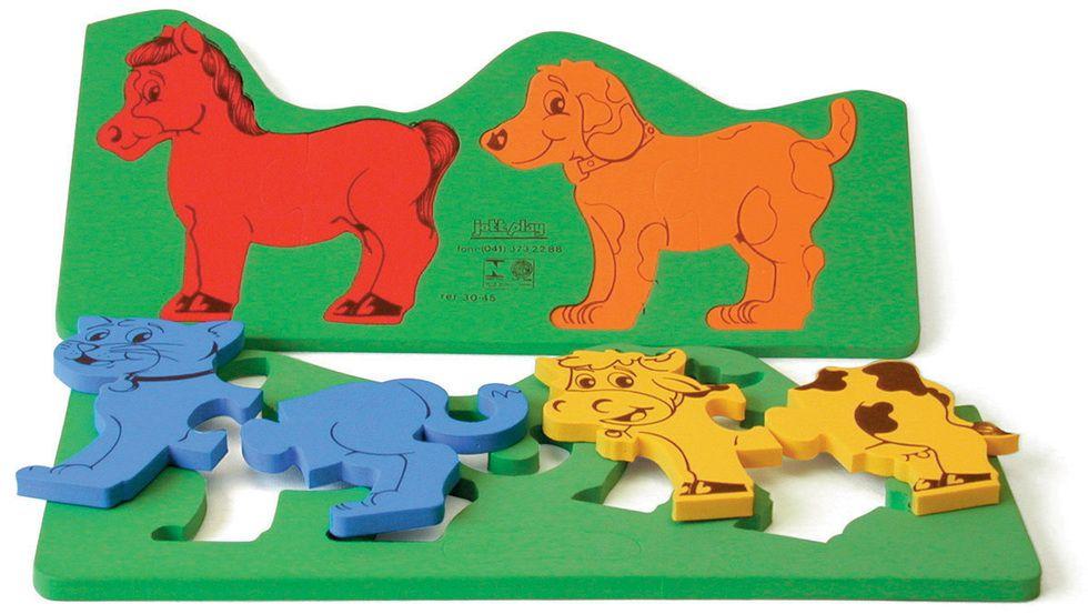 Animais de Encaixe – puzzle E.V.A