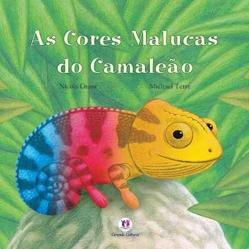 AS CORES MALUCA DO CAMALEAO