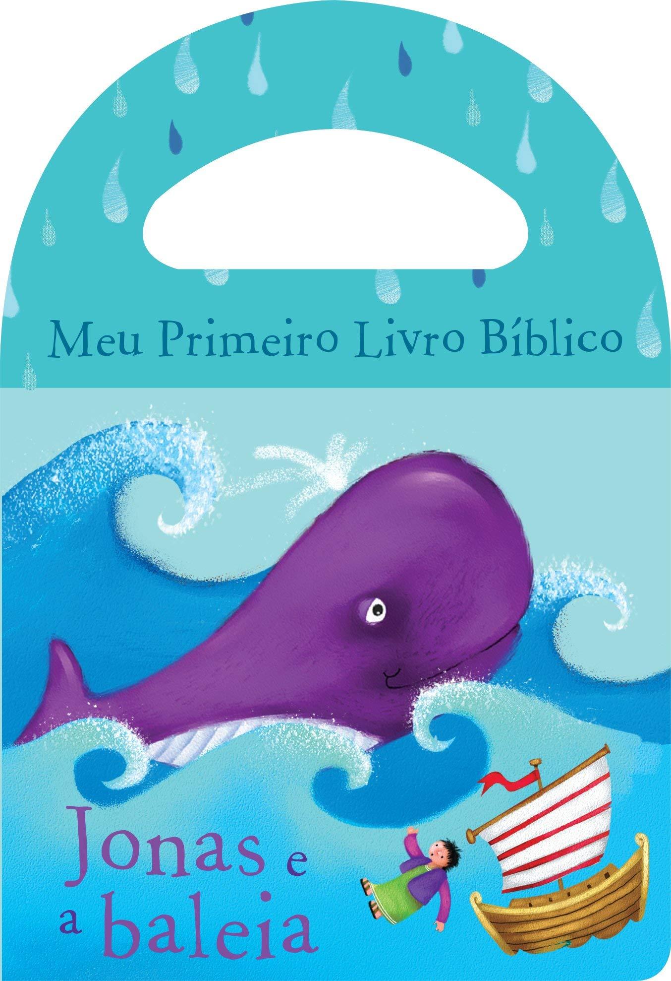 BANHO/MEU PRIM. LIVRO BIBLICO - JONAS E A BALEIA