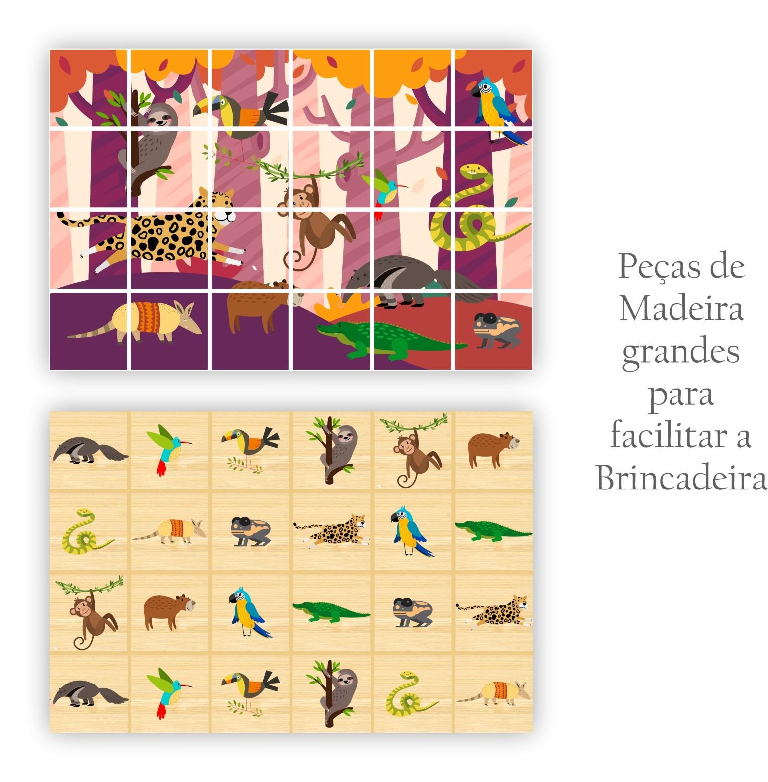 BIG MEMÓRIA / QUEBRA-CABEÇA 2 EM 1 - AMAZÔNIA