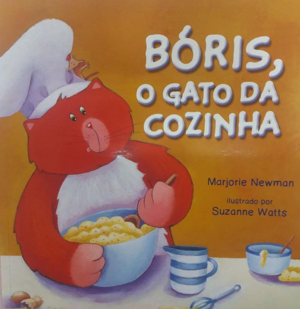 BORIS, O GATO DA COZINHA