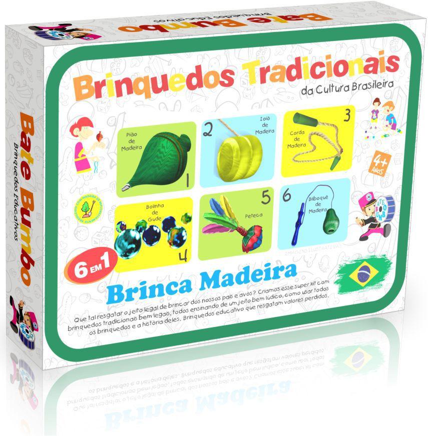 BRINQUEDOS TRADICIONAIS DA CULTURA BRASILEIRA