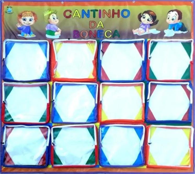 CANTINHO DA SONECA C/  12 BOLSOS
