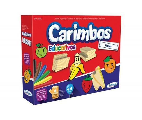 CARIMBOS EDUCATIVOS - FRUTAS