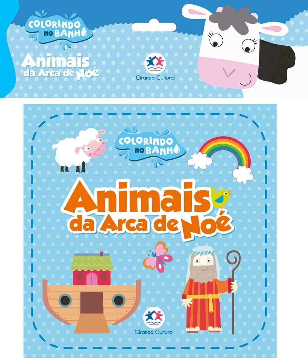 COLORINDO NO BANHO - ANIMAIS DA ARCA DE NOE