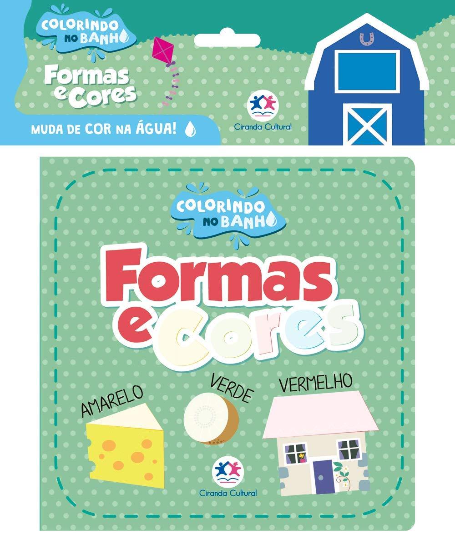 COLORINDO NO BANHO - FORMAS E CORES