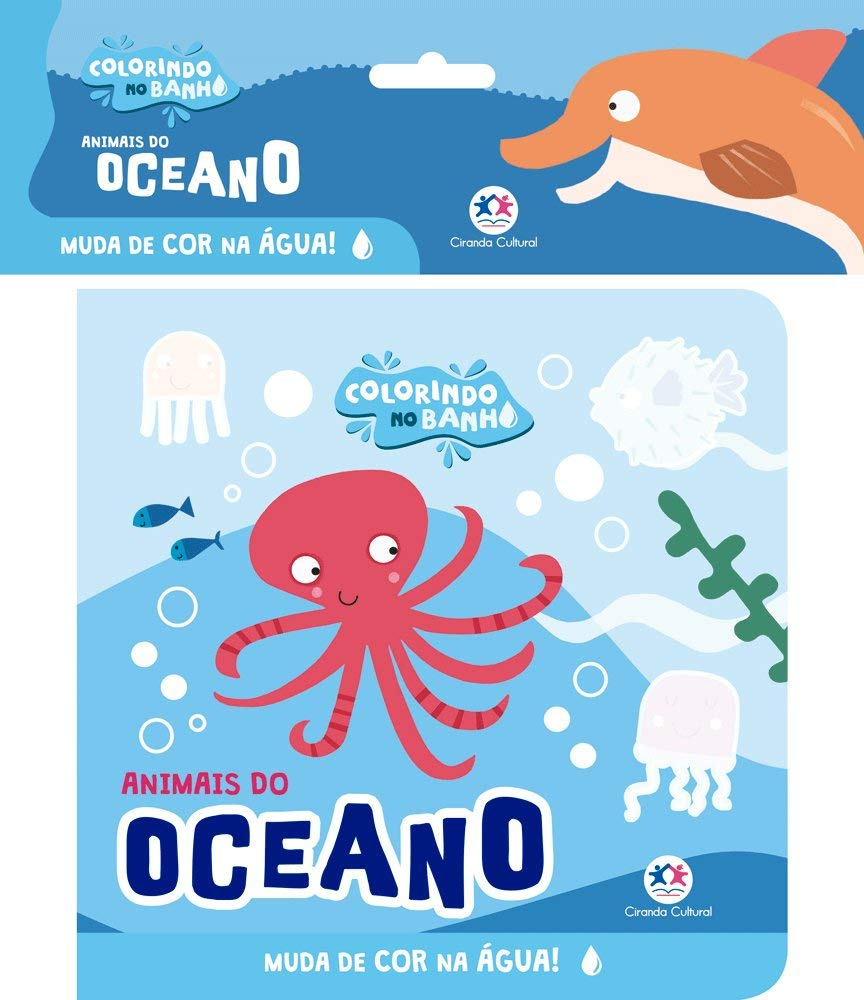 COLORINDO NO BANHO - OCEANO