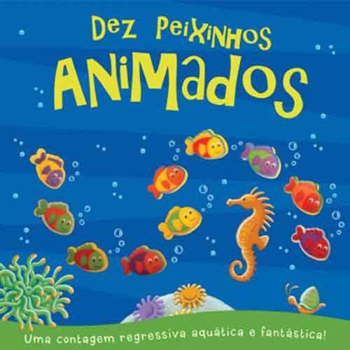 CONTANDO - DEZ PEIXINHOS ANIMADOS