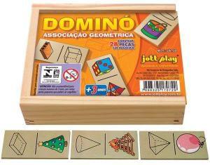 Dominó Associação Geométrica 28 pç
