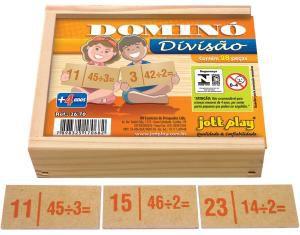 DOMINÓ DE DIVISÃO - 28 PEÇAS