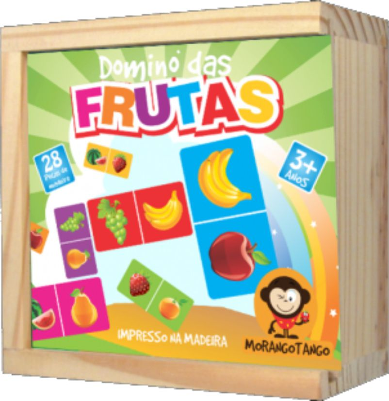 Dominó Pedagógico Frutas