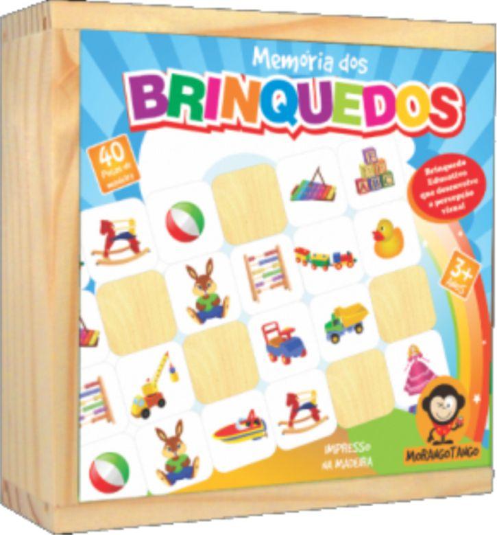 Jogo de Memória Brinquedos