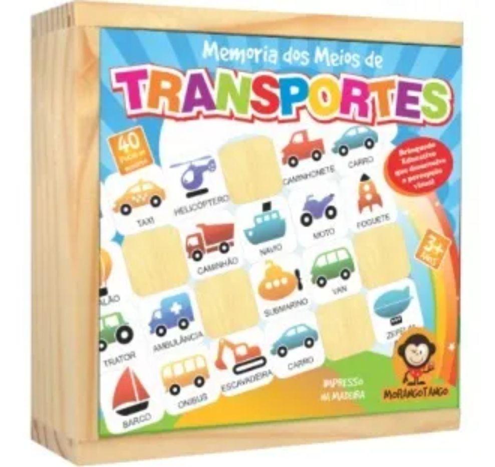 Jogo De Memória Transportes