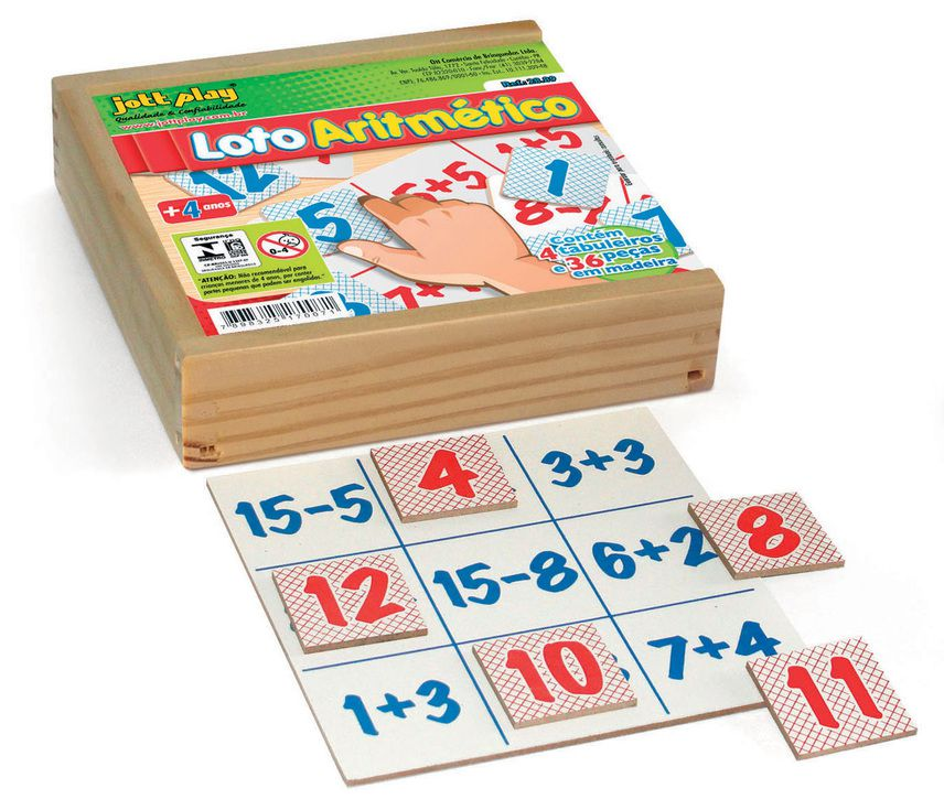 Loto Aritmético com 40 pçs
