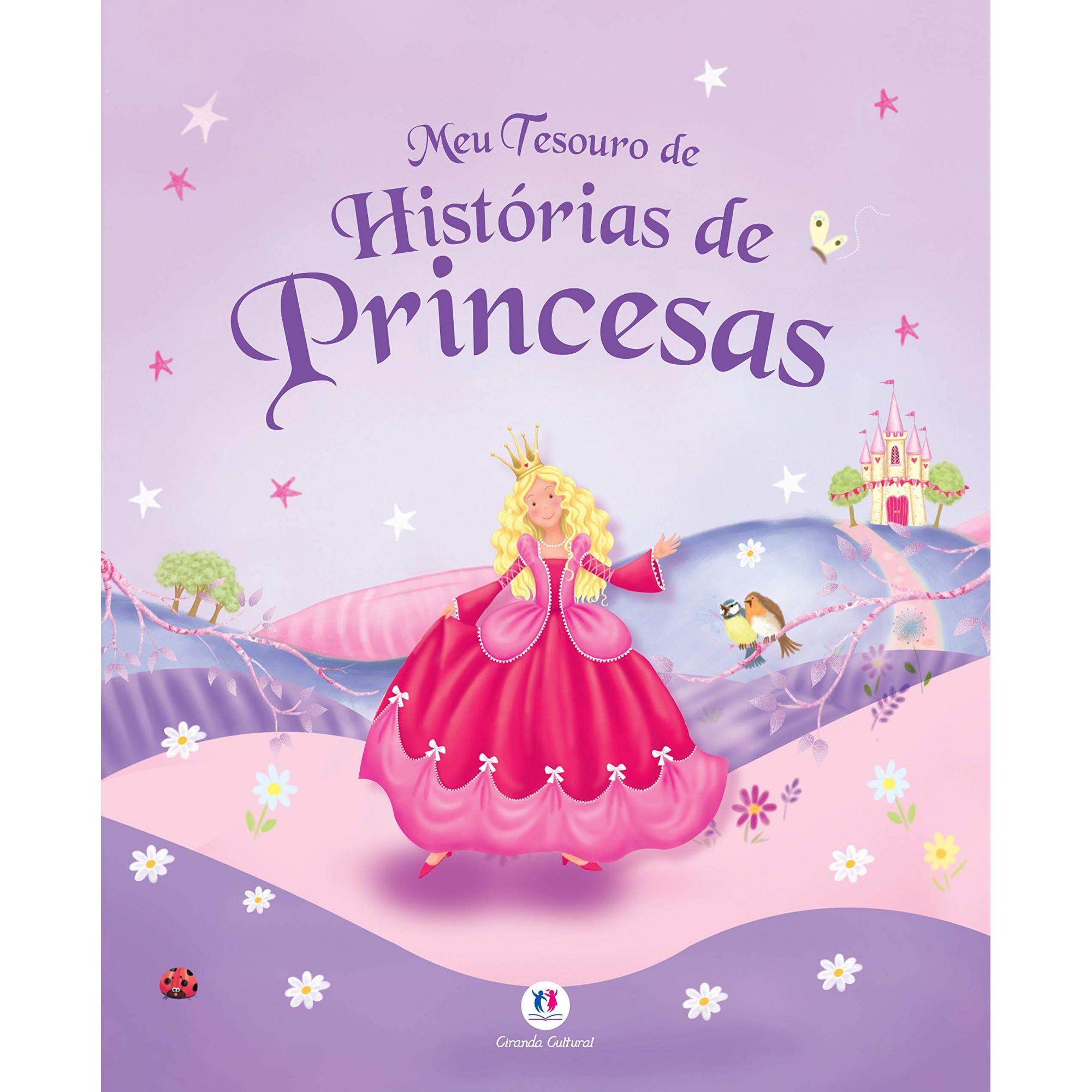 MEU TESOURO DE HISTORIAS DE PRINCESAS