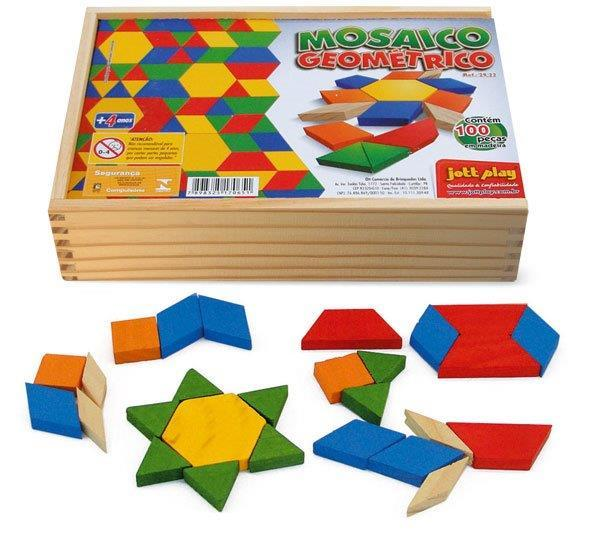 Mosaico Geométrico ( 100 pç )