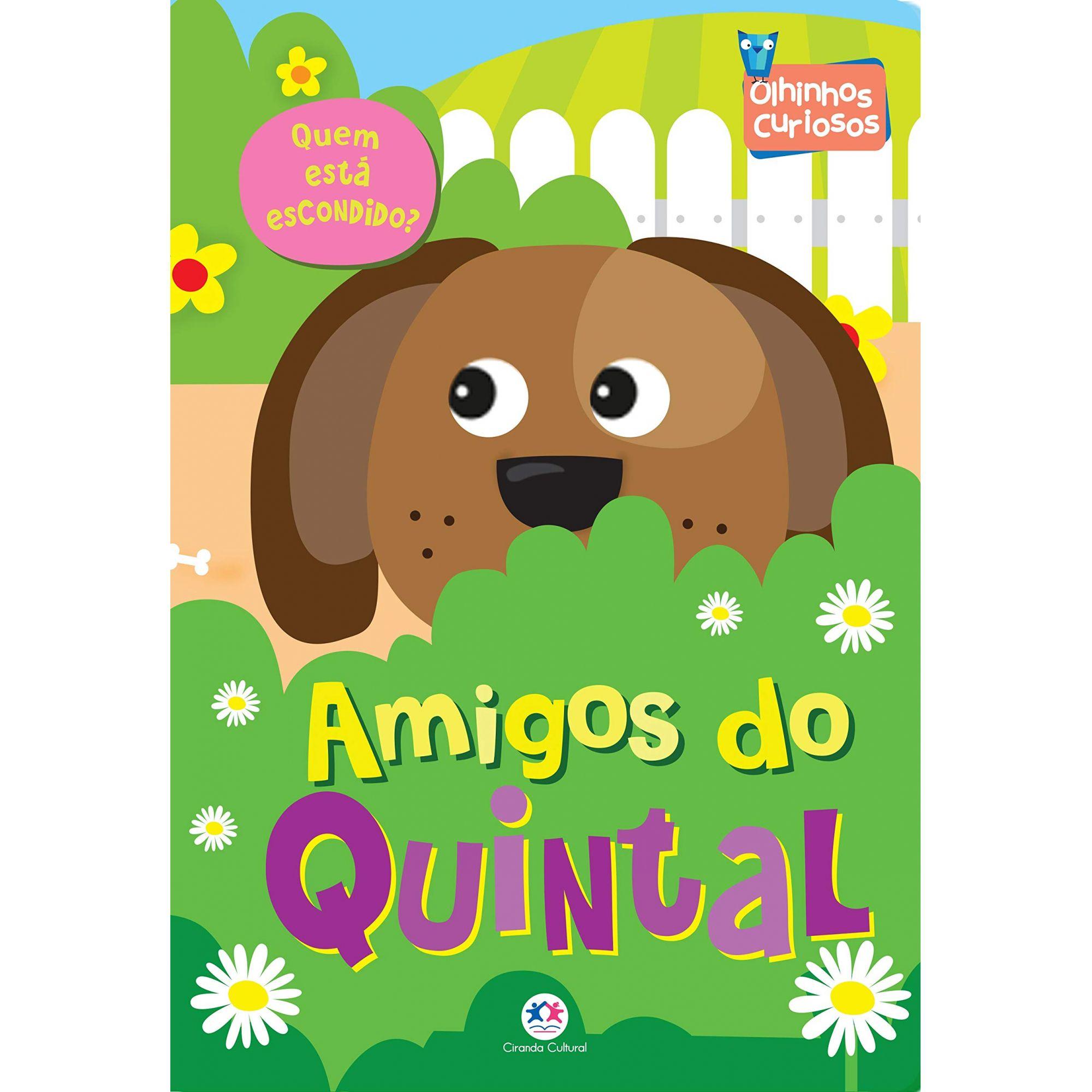 OLHINHOS CURIOSOS - AMIGOS DO QUINTAL
