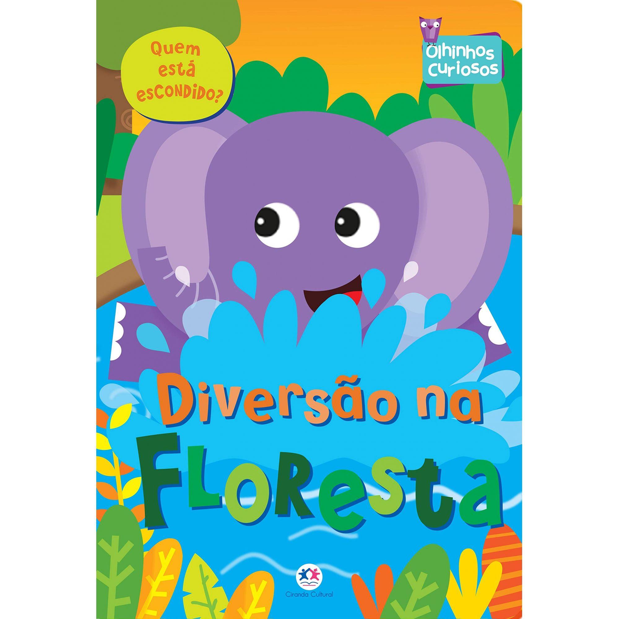 OLHINHOS CURIOSOS - DIVERSÃO NA FLORESTA