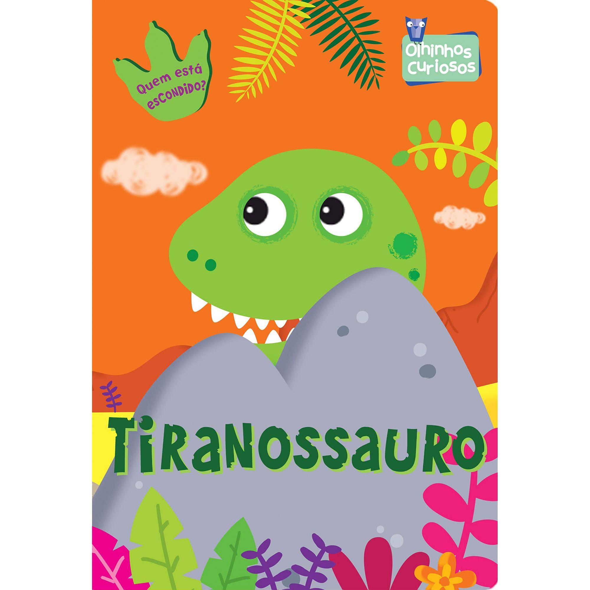 OLHINHOS CURIOSOS - TIRANOSSAURO