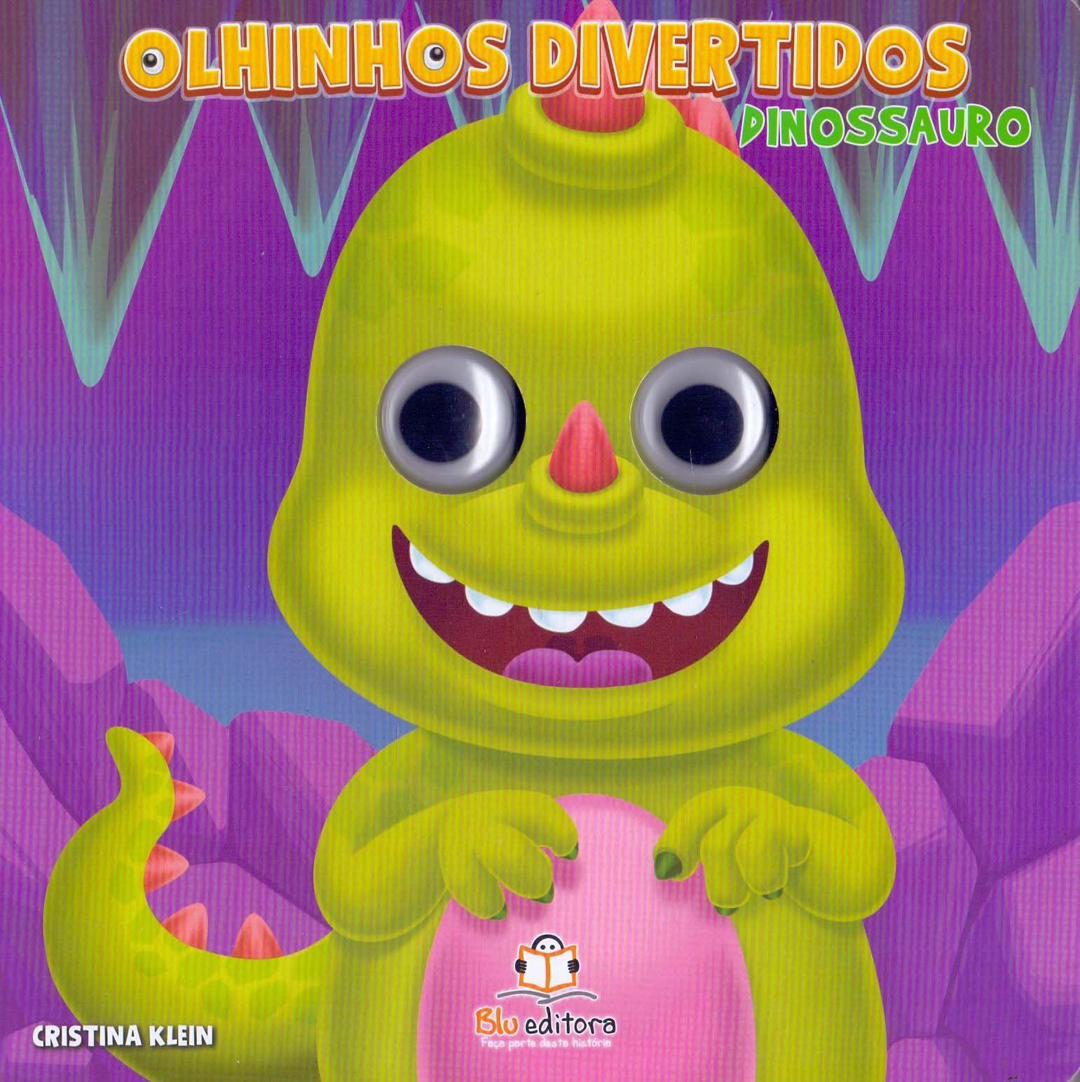 OLHINHOS DIVERTIDOS - DINOSSAURO